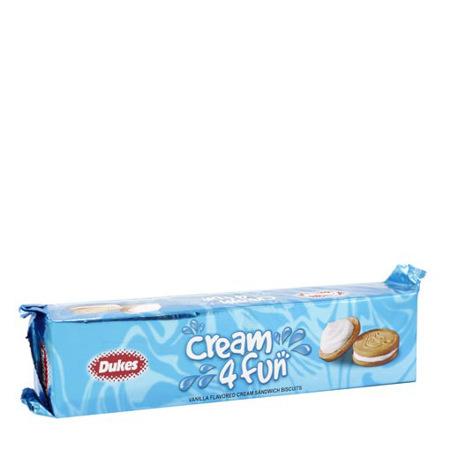 Imagen de Galleta De Vainilla Cream 4 Fun Dukes 200 Gr.